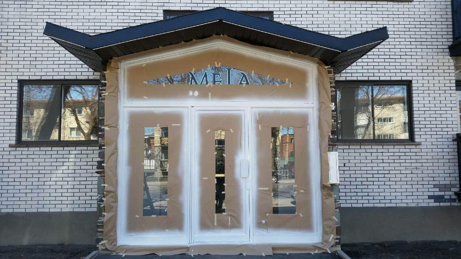 Projets peinture portes et fen tres garage pvc - Peinture porte et fenetre ...